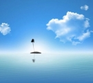 心里有座孤岛